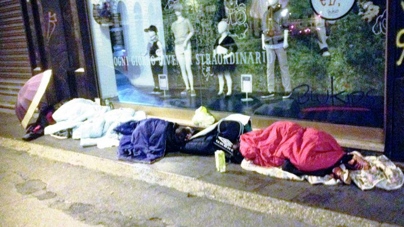Obdachlos | © Georges Scherrer