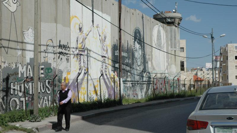 An der Trennmauer Israel-Palästina in Bethlehem | © Martin Spilker