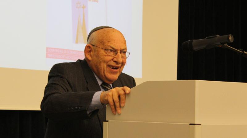 Tovia Ben-Chorin, Rabbiner in St. Gallen | © zVg