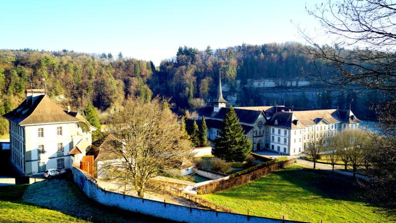 Kloster Hauterive in einer Talsenke der Saaneschlucht | © Georges Scherrer