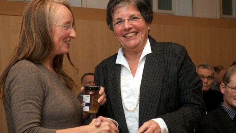 Monika Küng und Lucrezia Meier-Schatz | © Christina Sasaki-Wallimann