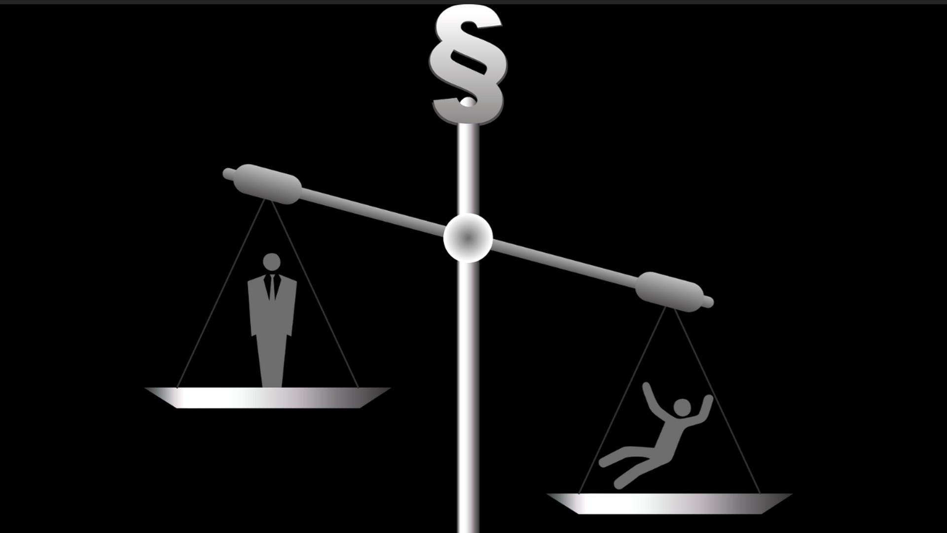 Menschenrechte im Ungleichgewicht | © pixabay succo CC0