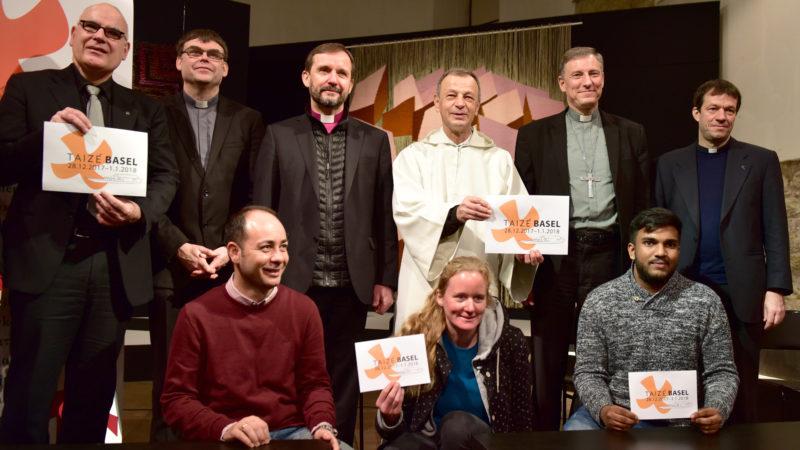 Lukas Kundert (ganz links), Alois Löser (3. v.r.) | © KNA