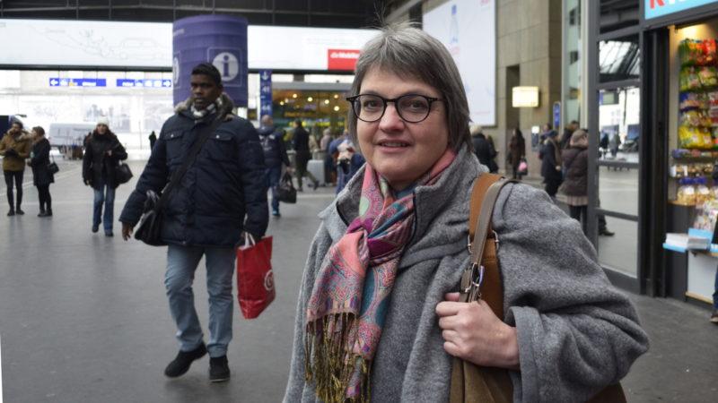 Barbara Bussmann vom kirchlichen Nein-Komitee zur USR III | © Regula Pfeifer