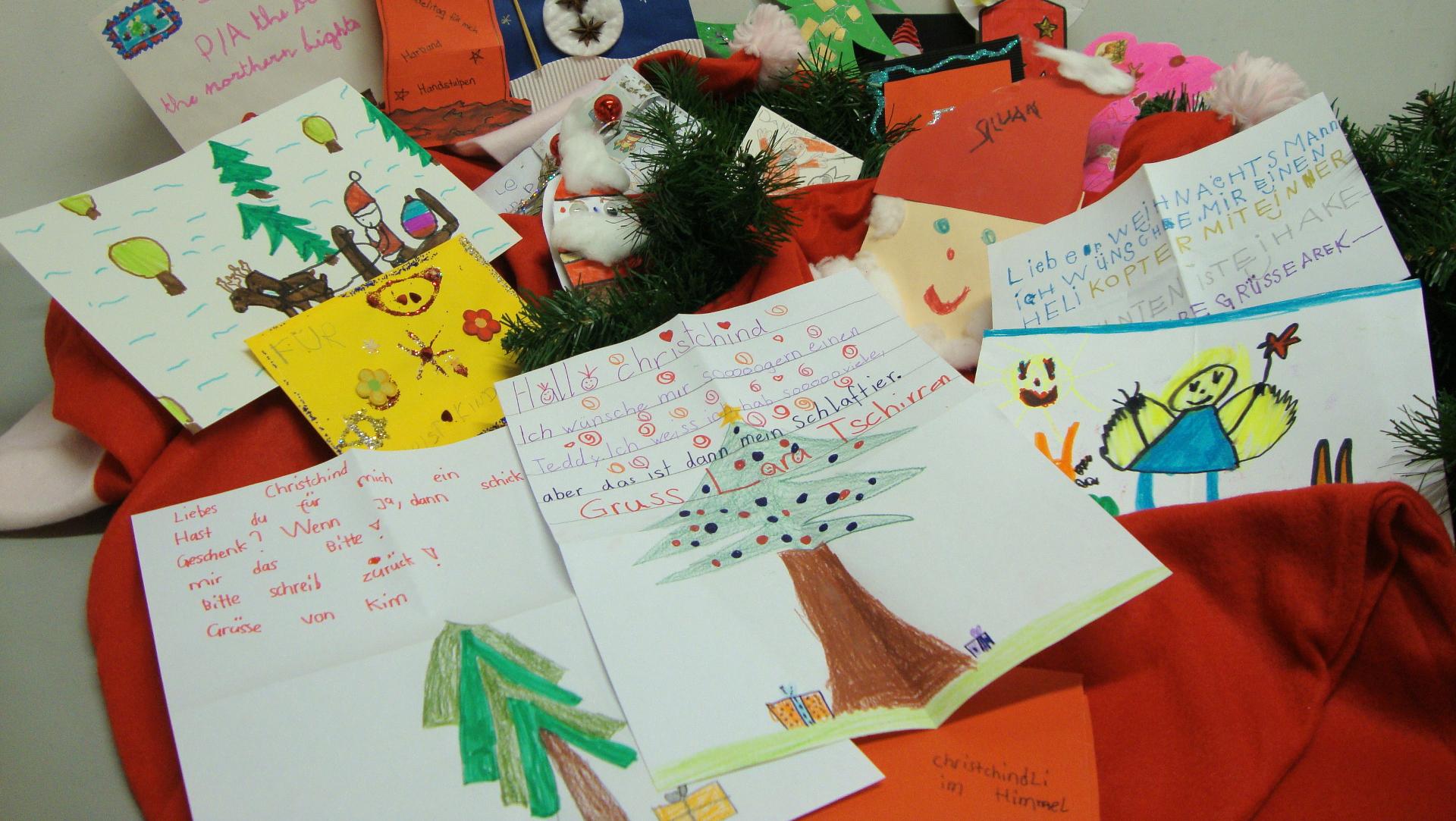 Briefe Ans Christkind Kinder : Christkind antwortet auf über briefe von kindern