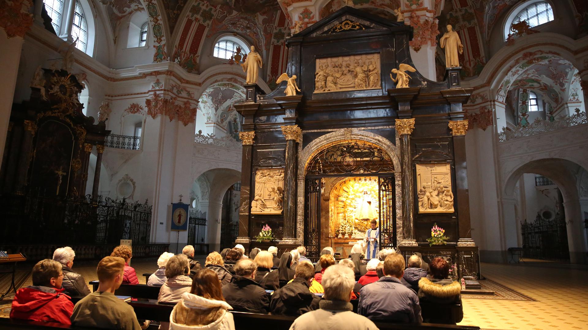 Bildergebnis für gnadenkapelle einsiedeln