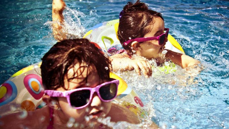 Kinder im Schwimmbad. | © pixabay pexels CC0