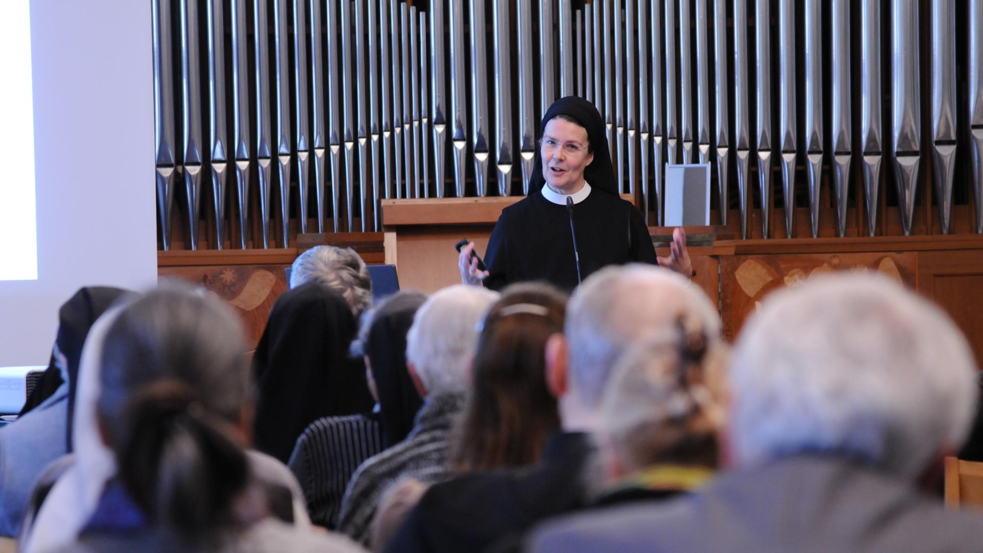 Irene Gassmann, Priorin des Klosters Fahr | @ Bistum St. Gallen