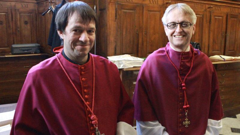 Stefan Kemmler und Roland Häfliger (von links) | © Hansruedi Huber