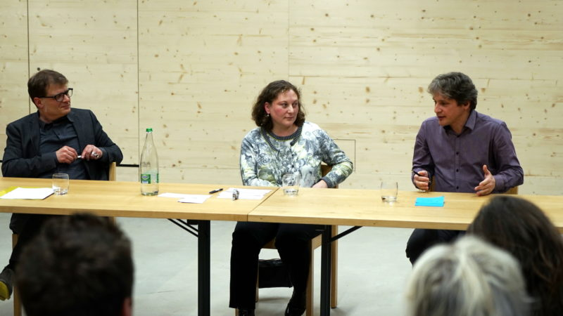Andreas Kessler, Judith Wipfler, Andreas Kyriacou | © Georges Scherrer