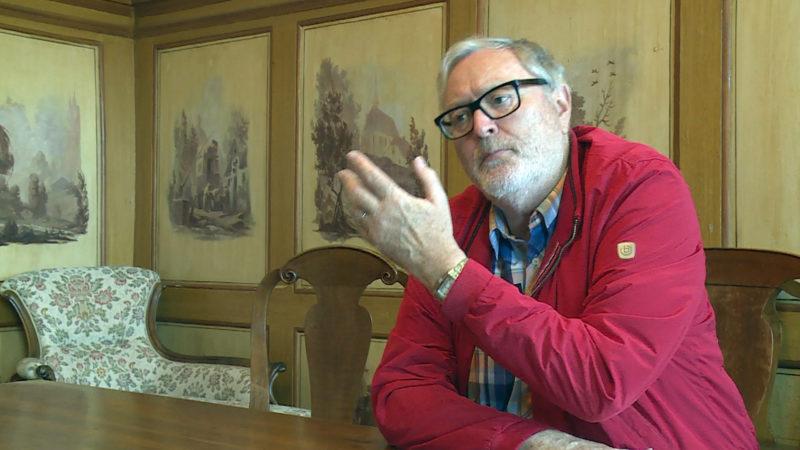 Der Kunsthistoriker Markus Bamert betreut die Kunstsammlung des Klosters Einsiedeln seit 2013. | © Hans Merrouche