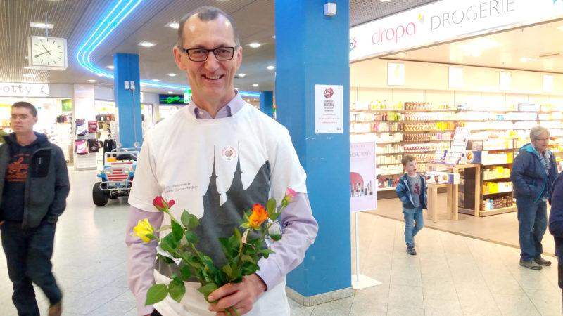 Werner Hösli, Glarner Ständerat (SVP), erhofft sich eine Sensibilisierung für das «wichtige Thema des Fairtrades». | © Francesca Trento