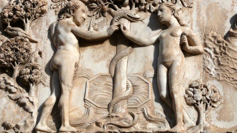 """Adam und Eva, Orvieto    © Herbert Krick / <a href=""""http://www.pixelio.de"""" target=""""_blank"""">pixelio.de</a>"""