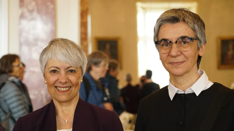 Mercedes Navarro Puerto und Jadranka Rebeka Anić | © Herbert Haag Stiftung