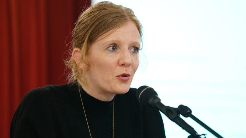 Fabienne Amlinger, wissenschaftliche Mitarbeiterin am Interdisziplinären Zentrum für Geschlechtserforschung | © Vera Rüttimann