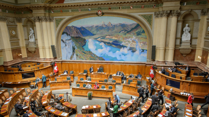 Nationalratssaal | © Parlamentsdienste 3003 Bern