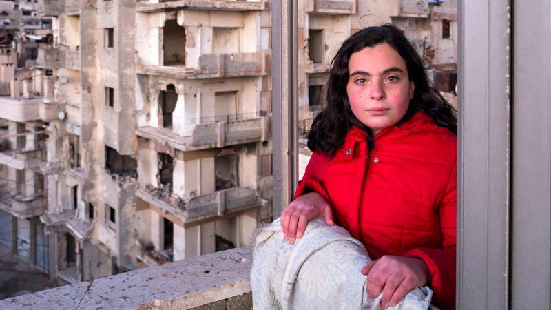 Nour Ghozam (12) in Homs singt trotz Not  | © Caritas Schweiz/ Alexandra Wey