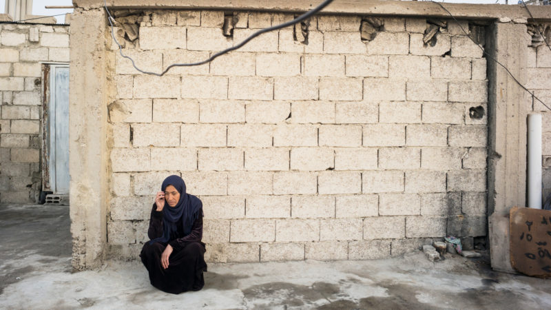 Zahra al-Ahmad ist traumatisiert | © Caritas Schweiz/ Alexandra Wey