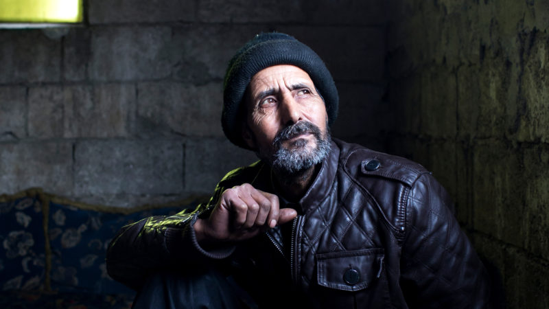Ali al-Ahmad hat einen Sohn im Krieg verloren | © Caritas Schweiz/ Alexandra Wey