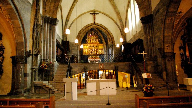 Chor der Kathedrale Chur, wo der neue Bischof geweiht wird  | © Georges Scherrer