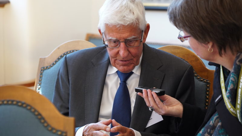 Peter von Matt, emeritierter Literaturprofessor | © Vera Rüttimann