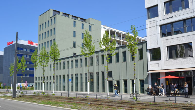 Gebäude der zukünftigen Paulus-Akademie | © Sylvia Stam