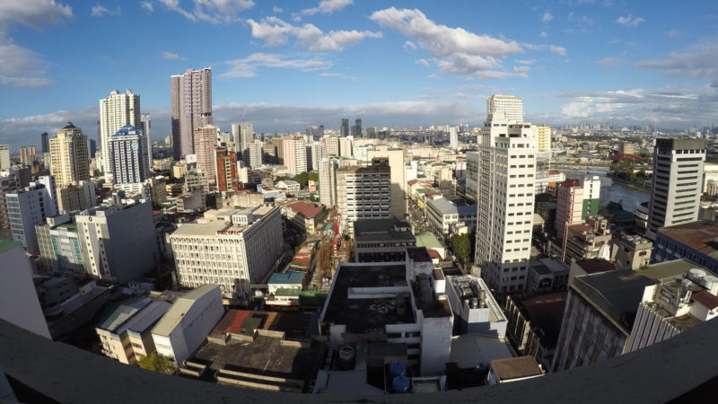 Blick auf die Stadt Manila | © pixabay.com