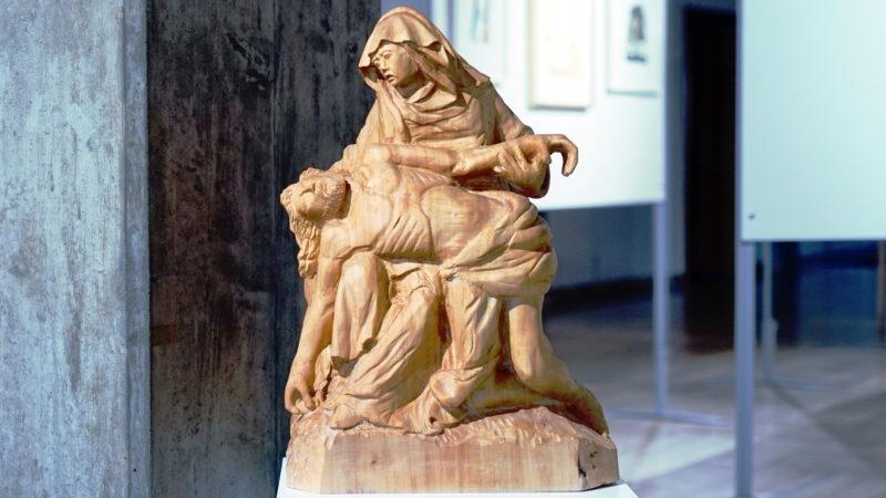 Pieta eines Künstlers aus der Abtei Hauterive   © Georges Scherrer
