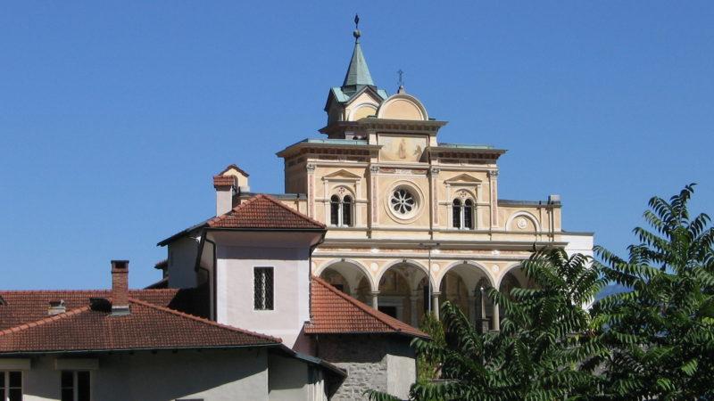 Madonna del Sasso, Marienwallfahrtsstätte in Orselina oberhalb von Locarno | © Agostino Del Pietro