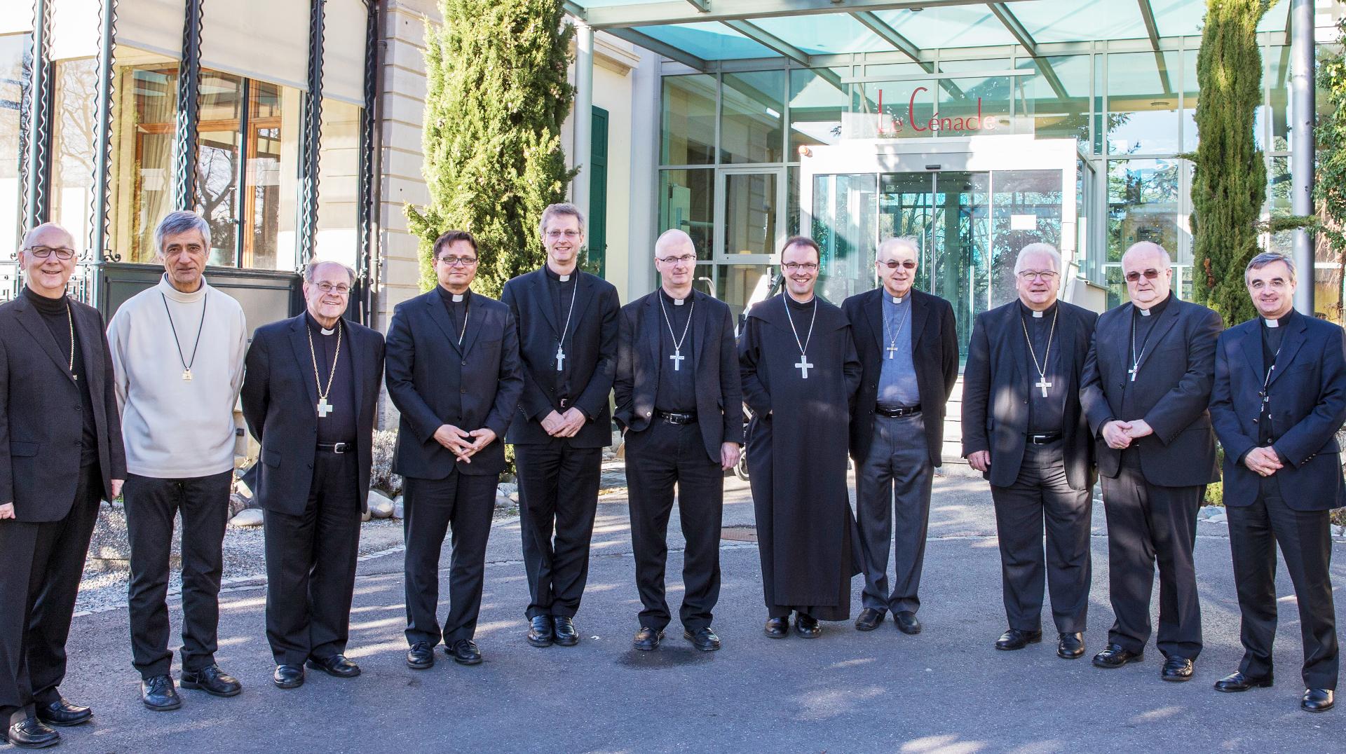 Die Schweizer Bischofskonferenz | © bischoefe.ch