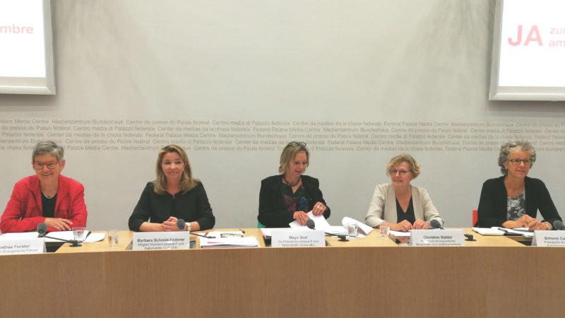 Frauendachverbände sagen Ja zur Rentenreform 2020  | © Francesca Trento