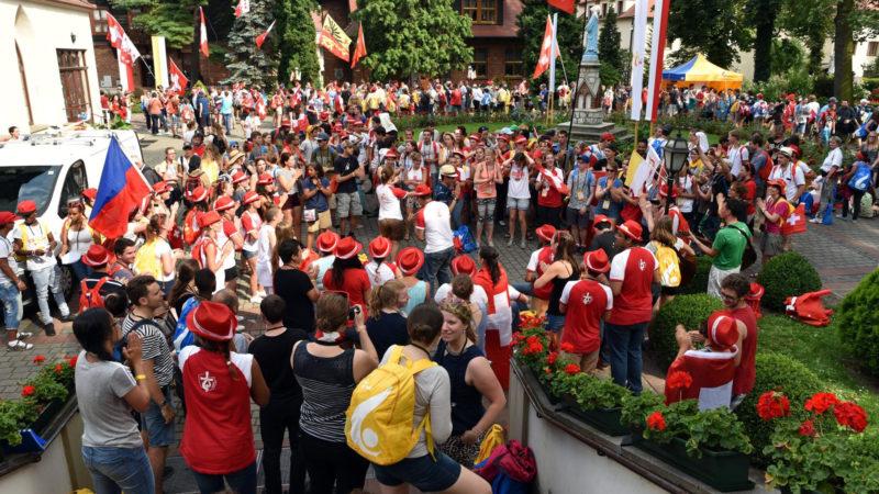 Schweizer Jugendliche auf dem WJT in Krakau | © wjt.ch