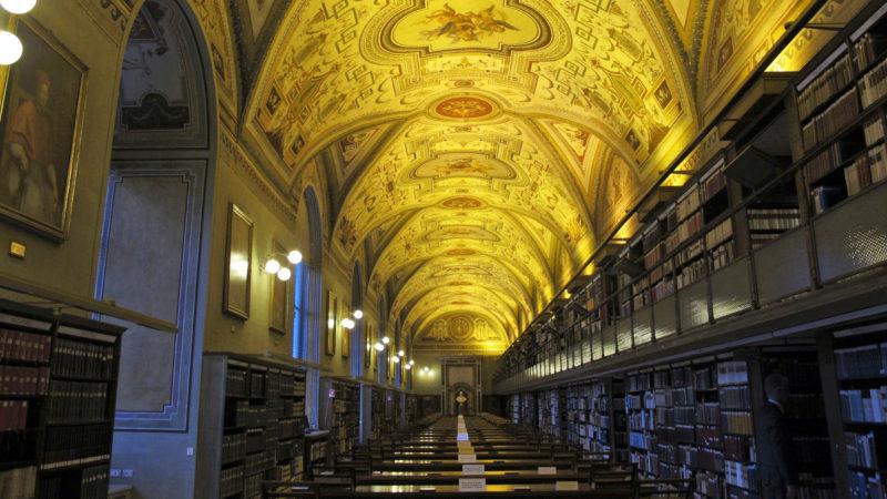 Vatikanische Bibliothek | © KNA