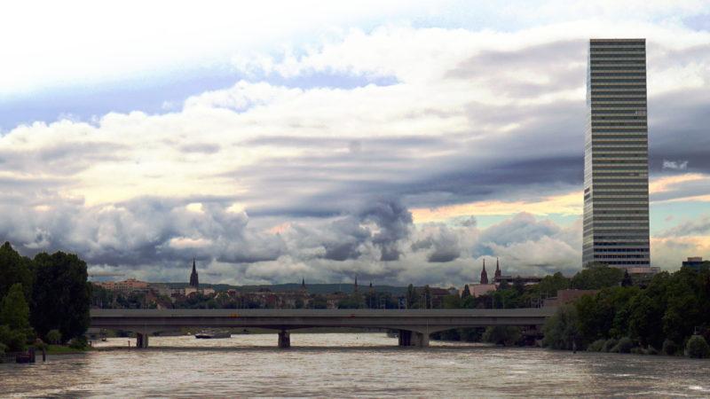Gewitterwolken über Basel | © Georges Scherrer