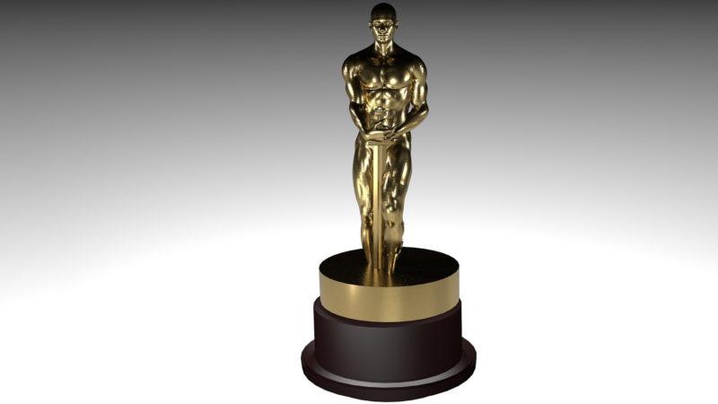 Ikone der Filmwelt: der Oscar | © pixabay bykst CC0