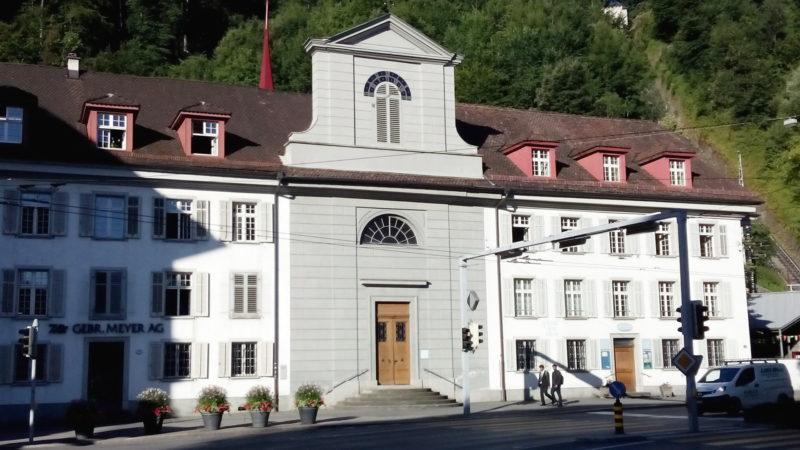 Die Sentikirche an der Baslerstrasse in Luzern | © Sylvia Stam