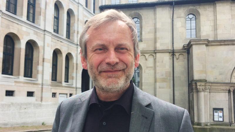 Christoph Sigrist, Pfarrer am Grossmünster Zürich | © zVg
