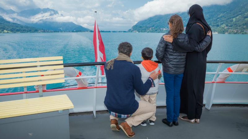 Arabische Touristen in der Schweiz. | © Vera Rüttimann