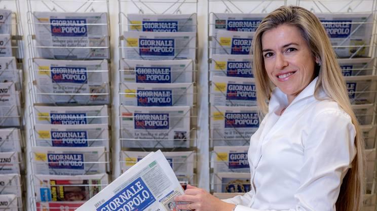 Alessandra Zumthor, Direktorin des «Giornale del Popolo»  | © zVg