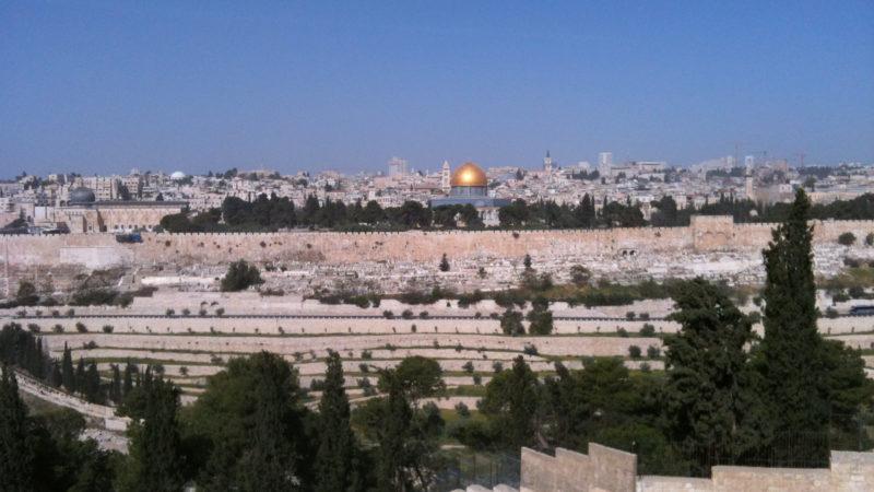 Blick auf den Tempelberg in Jerusalem | © Blumeline/pixabay.com CC0