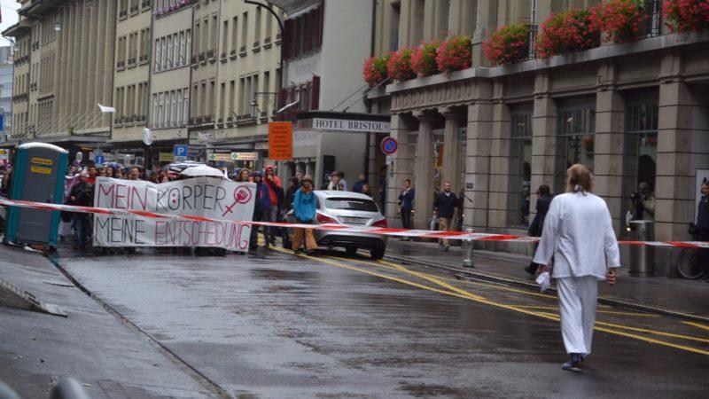 Gegendemo zum «Marsch fürs Läbe» 2016 in Bern | © Francesca Trento