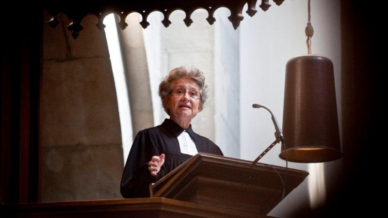 Käthi La Roche, Pfarrerin am Grossmünster, in einer Aufnahme aus dem Jahr 2009 | © Keystone