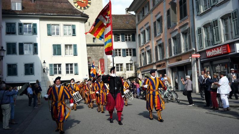 Schweizergarde in Solothurn | © Vera Rüttimann