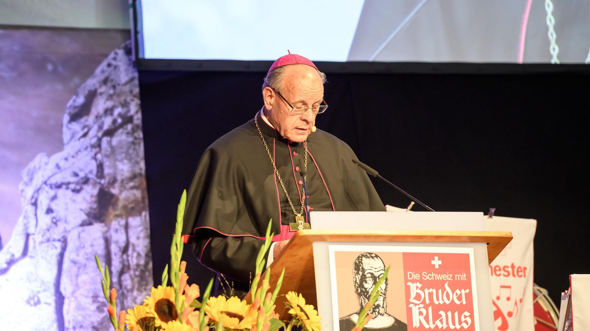 Bischof Vitus Huonder | © Jürg Frey