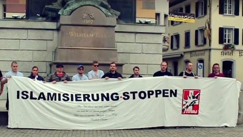 "Pnos: ""Islamisierung stoppen"" | ©  printscreen facebook.com/Pegida Schweiz"