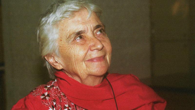 Ruth Pfau, deutsche Ordensfrau und Lepra-Ärztin in Pakistan, 2001  | © kna