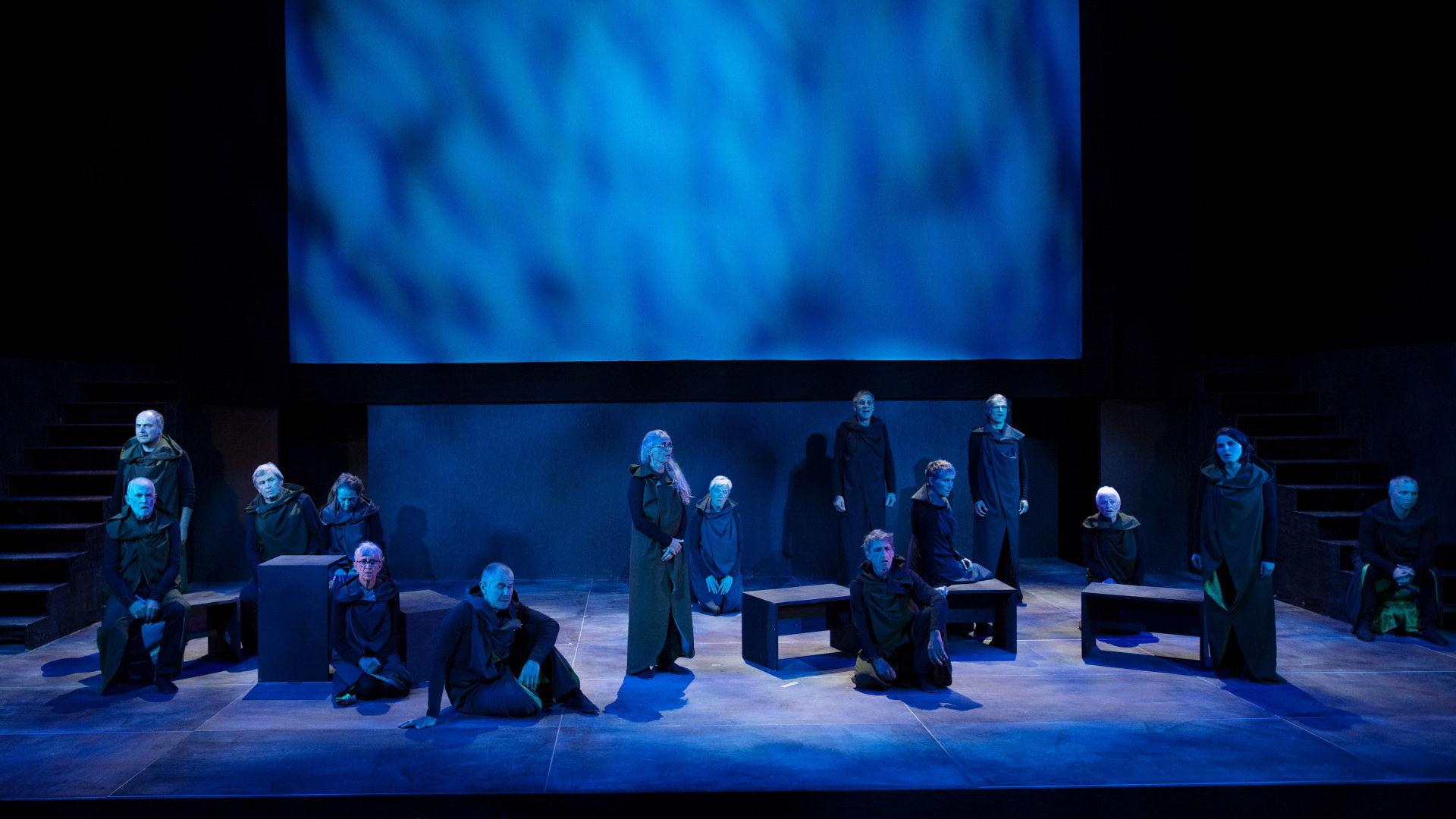 Inszenierter Chorgesang am Visionsgedenkspiel | © Sibylle Kathriner