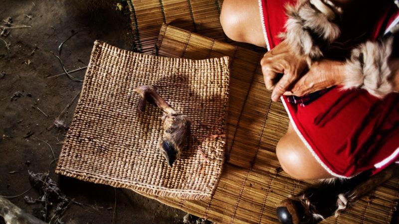 Wahrsage-Ritual in Südafrika | © Keystone/LAIF/Corinna Kern
