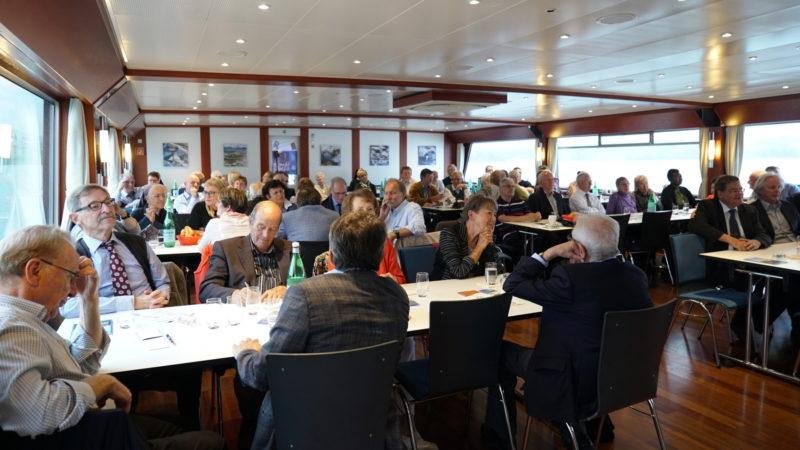 SKPV-Jubiläum auf dem Schiff | © Vera Rüttimann