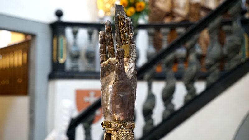 Reliquie der Heiligen Verena | © Vera Rüttimann